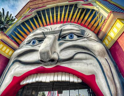 St.kilda Photograph - Ol' Blue Eyes by Wayne Sherriff