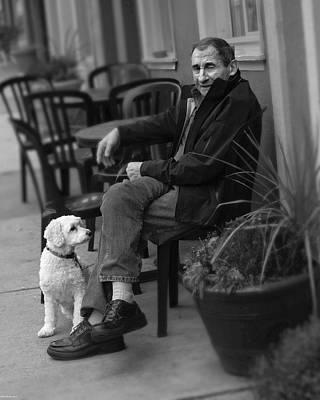 Photograph - Ol Man And His Dog by Gray  Artus