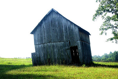 Photograph - Old Abandoned Barn by Emanuel Tanjala