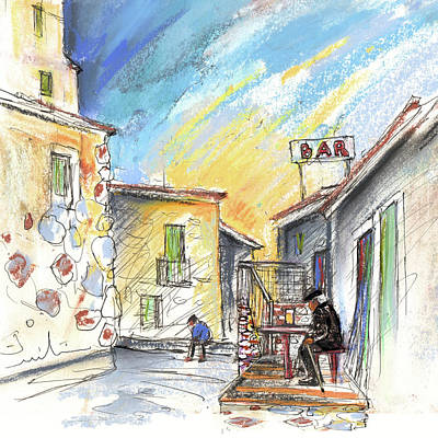 Painting - Old And Lonely In Spain 03 by Miki De Goodaboom