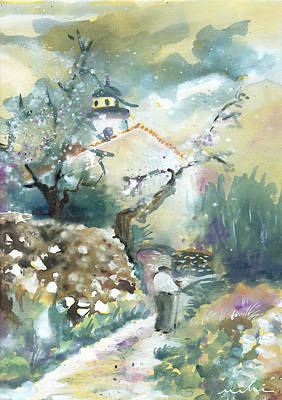 Painting - Old And Lonely In Spain 05 by Miki De Goodaboom
