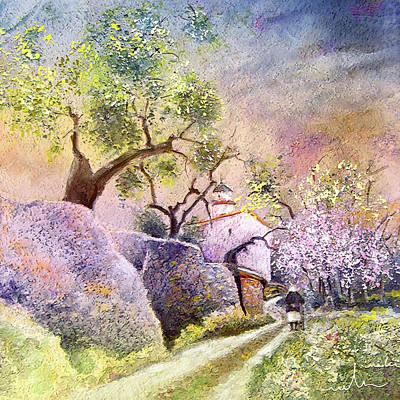 Painting - Old And Lonely In Spain 06 by Miki De Goodaboom