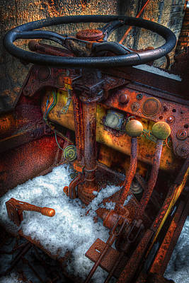Rusty Cars Photograph - Old And Rusty 3 by Emmanuel Panagiotakis