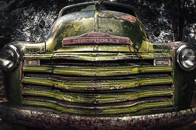 Rusty Cars Photograph - Old And Rusty 4 by Emmanuel Panagiotakis