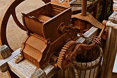 Photograph - Old Apple Press 2 by Bill Owen