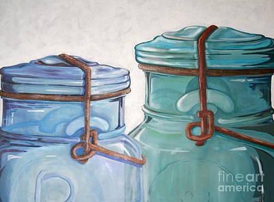 Old Ball Jars Original by Amy Higgins