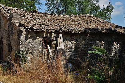 Photograph - Old Barn by Dany Lison