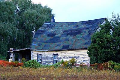 Photograph - Old Barn by Davandra Cribbie