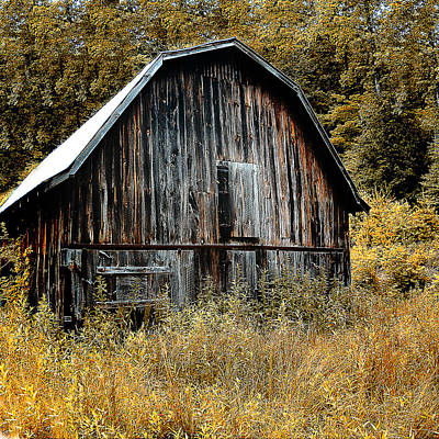 Photograph - Old Barn by Gordon Engebretson