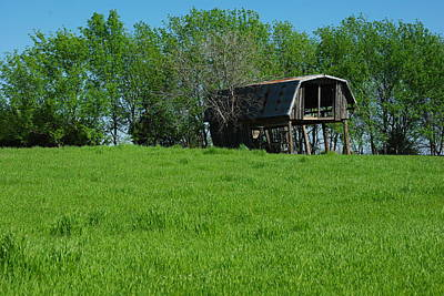Photograph - Old Barn by Robyn Stacey