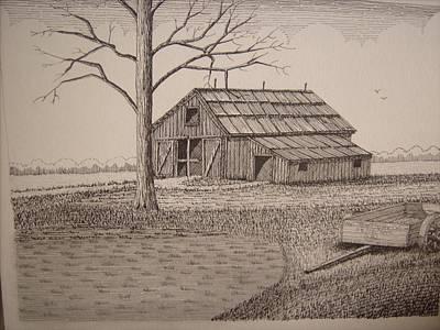 Old Barn2 Art Print by William Deering