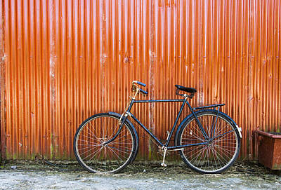 Photograph - Old Bike by Jim Orr