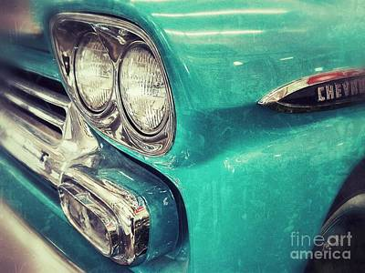 Photograph - Old Blue by Traci Cottingham