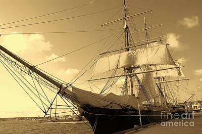 Art Print featuring the photograph Old Boat by Jasna Gopic