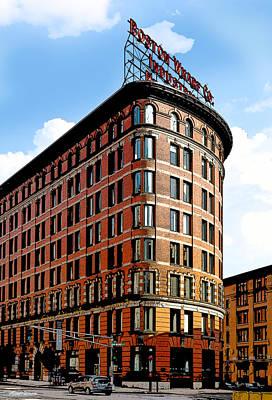 Photograph - Old Boston Wharf Company  by Michelle Wiarda