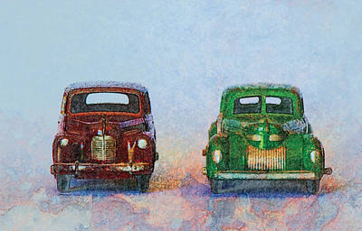 Old Boy Toys Art Print by Perry Van Munster