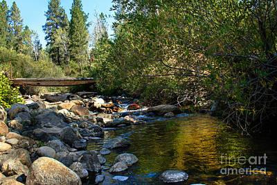 Photograph - Old Bridge by Robert Bales