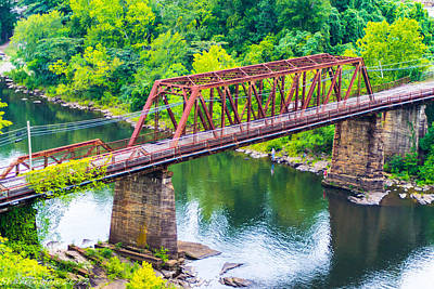 Photograph - Old Bridge by Shannon Harrington