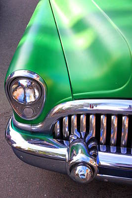 Fifties Buick Photograph - Old Buick Details by Valentino Visentini