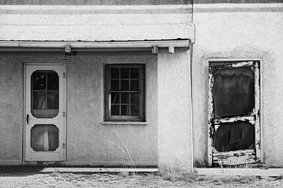 Fort Bayard Photograph - Old Buiding Near Silver City by Bob Russman