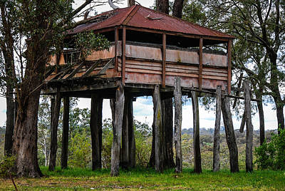 Photograph - Old Building On Stilts 2 by Fran Woods