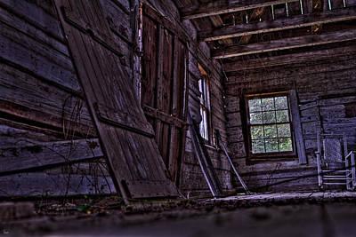Old Cabin Hdr Original by Jason Blalock