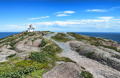 Photograph - Old Cape Spear Lighthouse by Steve Hurt