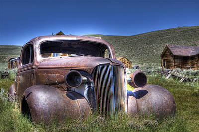 Photograph - Old Car In Bodie by Joe  Palermo