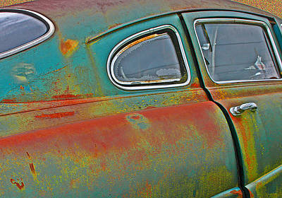 Photograph - Old Car by Jean Noren