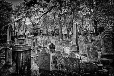 Photograph - Old Cemetery In Philadelphia 2 by Val Black Russian Tourchin
