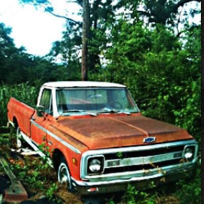 Unique Photograph - #old #chevrolet #truck #unique #antique by Seth Stringer