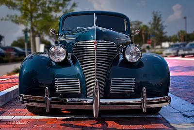 Photograph - Old Chevy by Christopher Holmes
