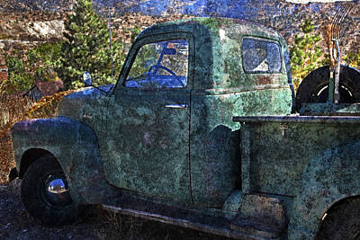 Photograph - Old Chevy Pickup Truck by John Stephens