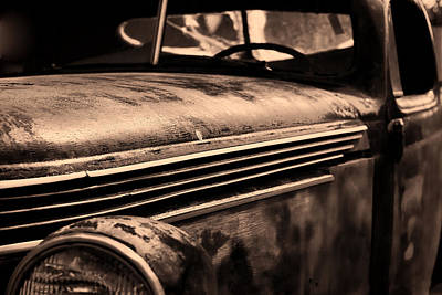 Photograph - Old Chevy by Ron Roberts