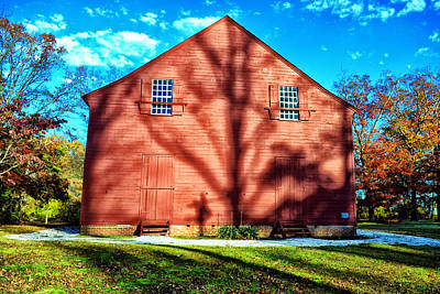 Old Christ Church Art Print by Kelly Reber