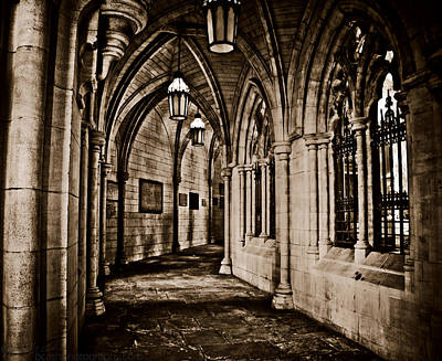 Photograph - Old Church Halls by Beverly Cash