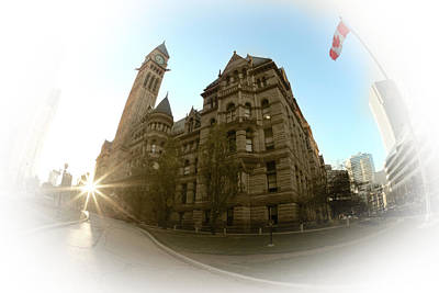 Photograph - Old City Hall - Toronto by Anthony Rego