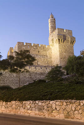 Tower Of David Photograph - Old City, Tower Of David Museum by Richard Nowitz