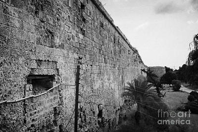 Old City Walls Famagusta Turkish Republic Of Northern Cyprus Trnc Art Print by Joe Fox