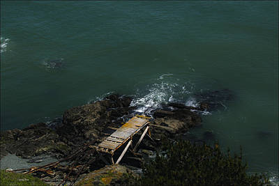 Photograph - Old Coast Guard Pier by Gary Rose