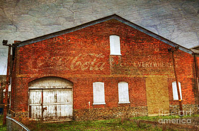 Cocacola Photograph - Old Coca Cola Building by Paul Ward
