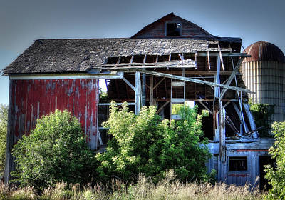 Old Country Barn Art Print by Michael Wilcox