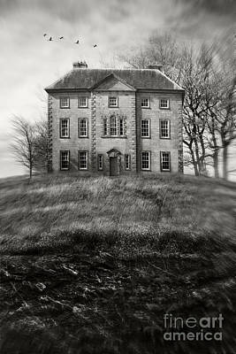 Photograph - Old Country Manor On A Hill by Sandra Cunningham