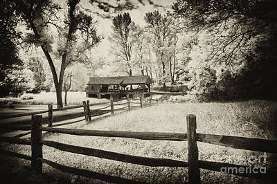 Split Rail Fence Photograph - Old Country Saw-mill - Toned by Paul W Faust -  Impressions of Light