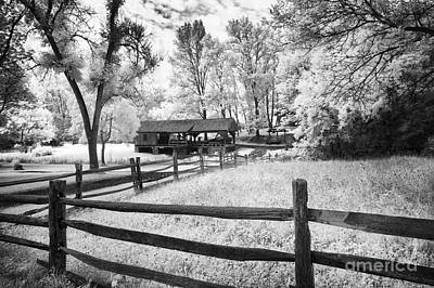 Split Rail Fence Photograph - Old Country Saw-mill by Paul W Faust -  Impressions of Light