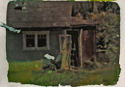 Old Cove Cottage  Art Print by Janet Kearns
