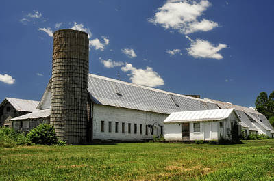 Photograph - Old Dairy Barn by Lara Ellis