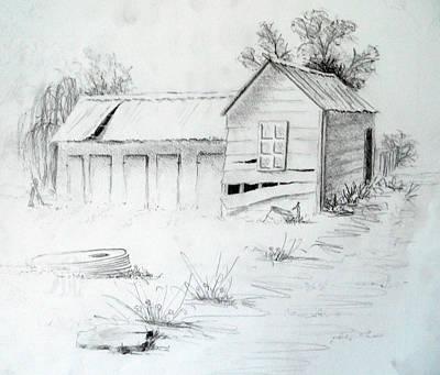 Old Dairy Art Print