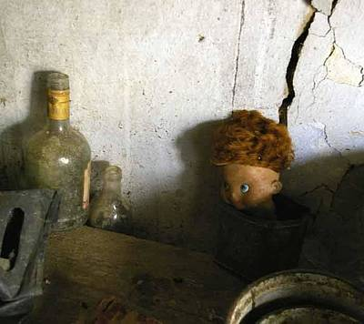 Photograph - Old Doll In The Attic by Draia Coralia