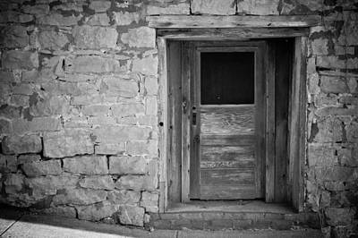 Clarksville Photograph - Old Door by Paul Bartoszek